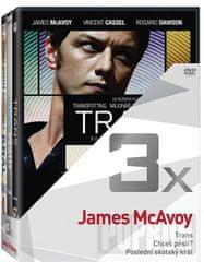 Popron 3x James McAvoy, DVD