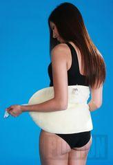 Popron Merino VOS 34 ledvinový pás 100% 65 cm x 35 cm