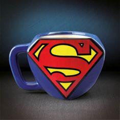 Popron.cz Abysse Corp Superman 3D Hrnek Logo 350 ml