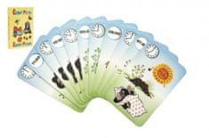 Akim Černý Petr Krtek 4- společenská hra - karty v papírové krabičce 6x9cm