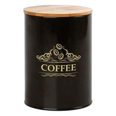 BigBuy Plechová dóza Coffee