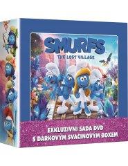 Popron 3 DVD Šmoulové 1-3 LUNCH BOX, DVDSE