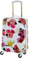 CAVALET Príručný kufor Rose Flower White