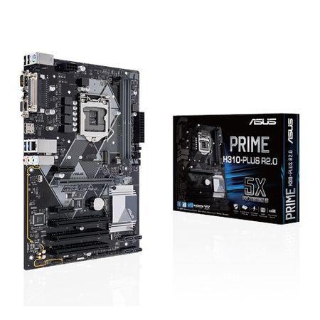 Asus Prime H310-Plus R2.0 osnovna plošča, LGA 1151, DDR4, ATX