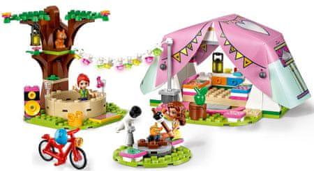 LEGO Friends 41392 Luxus kempingezés a természetben