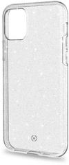CELLY Sparkle kryt pro iPhone 11 Pro, průhledný (SPARKLE1000WH)