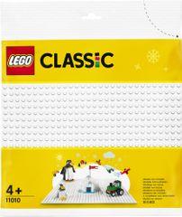 LEGO Classic 11010 Fehér alátét az építéshez