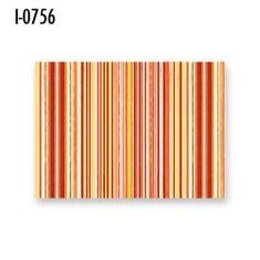 INFIBRA Stylové dekorativní prostírání Infibra Trend oranžová 30x40cm