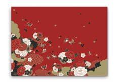 INFIBRA Jednorázové papírové prostírání Infibra Asian 30x45cm - 200ks