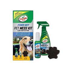 Turtle Wax komplet za odstranjevanje živalskih madežev in neprijetnega vonja