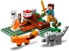 LEGO Minecraft 21162 Kalandok a tajgában