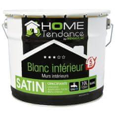 Home Tendance nástěnná barva, 10l saténová bíla