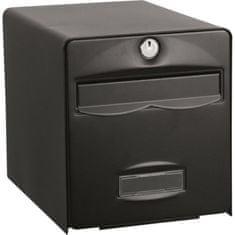 Burg Wachter poštovní schránka, černá