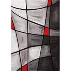 Nazar moderní koberec Brilliance červený 170 × 120 cm