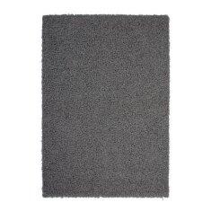 Nazar stylový chlupatý koberec šedý - 160 × 120 cm