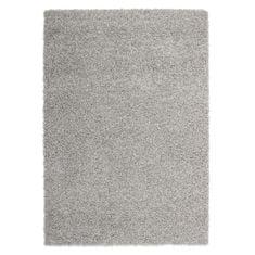 Nazar stylový chlupatý koberec světle šedý - 160 × 120 cm