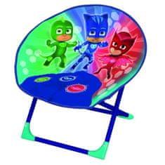 Fun House dětské skládací křeslo Pyžamasky