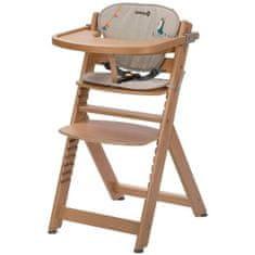 Safety 1st dětská dřevěná rostoucí židlička Timba Happy Day