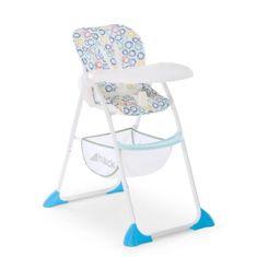 Hauck měkký dětská jídelní židlička Sit N Fold modrá