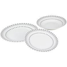 Cdiscount sada jídelních talířů, 18 ks