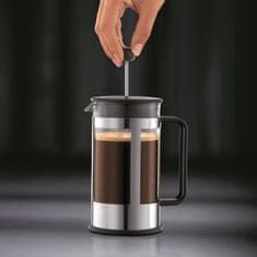 Bodum kávovar french press, 1 l, na 8 šálků