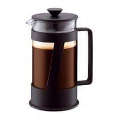 Bodum kávovar french press, 1 l, na 8 šálků, černý