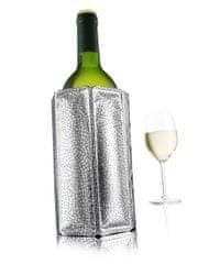VACUVIN 38803606 Manžetový chladič na víno Silver