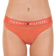 Tommy Hilfiger Dámská tanga oranžová (UW0UW00064 887)