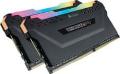 Corsair Vengeance RGB pre 16GB (2x8GB) DDR4 3200, čierna