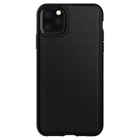 Spigen Liquid Air ovitek za iPhone 11 Pro, Matte Black