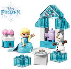 LEGO DUPLO 10920 Elsa és Olaf tea partija
