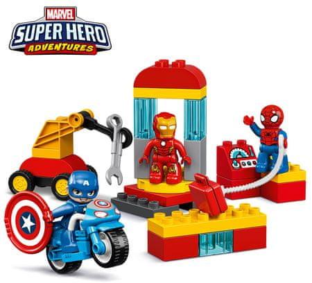 LEGO DUPLO 10921 Laboratorij superjunakov