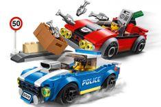 LEGO City Police 60242 Policajná naháňačka na diaľnici