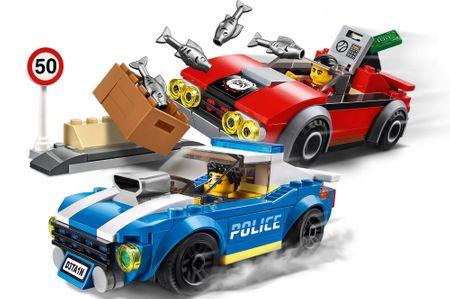 LEGO City Police 60242 Policija lovi na avtocesti