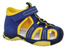 Protetika sandały chłopięce SID yellow