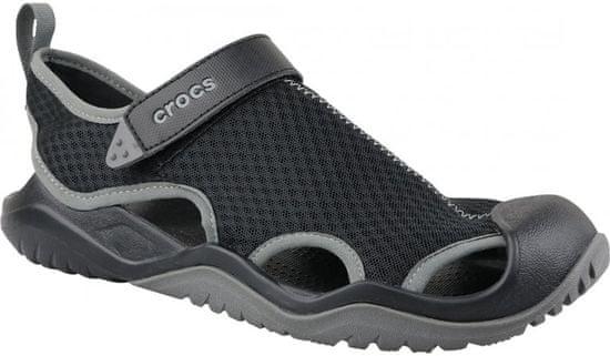 Crocs Swiftwater Mesh Deck Sandal M Black M8 (41-42)