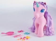 Alltoys Jednorožec Sparkle Girlz - růžová/fialová