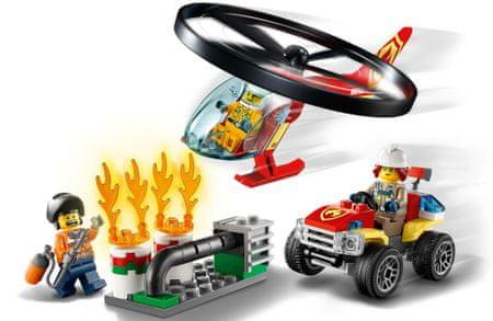 LEGO City 60248 Tűzoltó helikopter beavatkozása