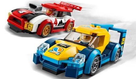 LEGO City 60256 Dirkalni avto