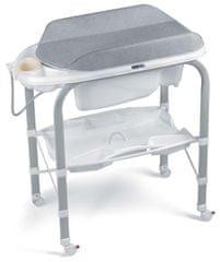 CAM Prebaľovací stôl s vaničkou Cambio