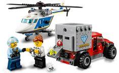 LEGO City Police 60243 Prenasledovanie s policajnou helikoptérou