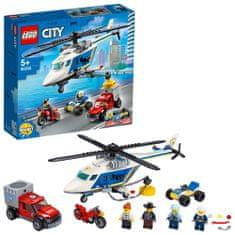 LEGO City Police 60243 Policijska potjera u helikopteru