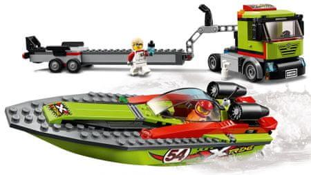 LEGO City Great Vehicles 60254 Prevoz z dirkalnim čolnom