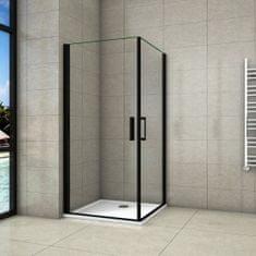 H K Sprchovací kút BLACK SAFIR A2