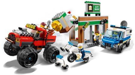 LEGO City Police 60245 Lúpež s monster truckom