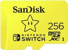 SanDisk karta micro SDXC Nintendo Switch 256 GB