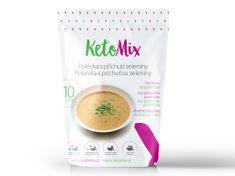 KetoMix KetoMix Proteinová polévka s příchutí zeleniny 10 porcí