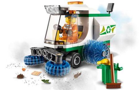 LEGO City Great Vehicles 60249 Čiščenje avtomobila