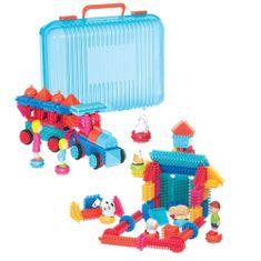 B. Toys Hrebeňová stavebnica v kufríku 113 ks