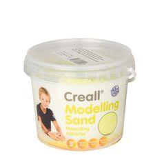 Creall Kinetický piesok 750g žltý